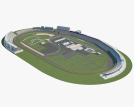 3D model of Charlotte Motor Speedway