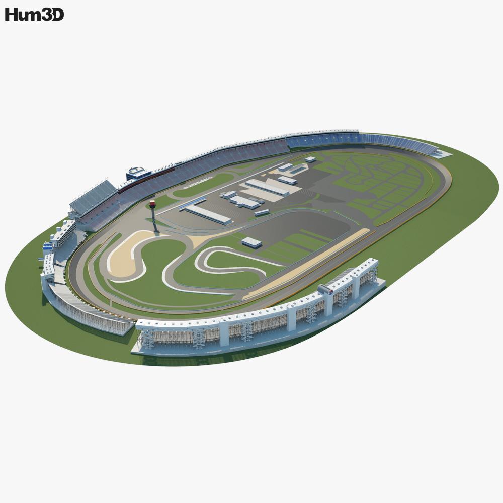 Charlotte Motor Speedway 3d model