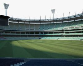 3D model of Melbourne Cricket Ground