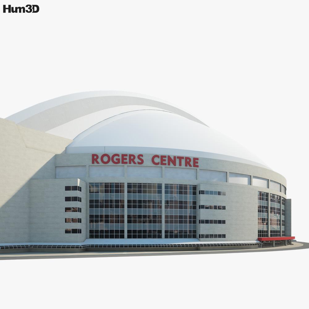 Rogers Centre 3d model