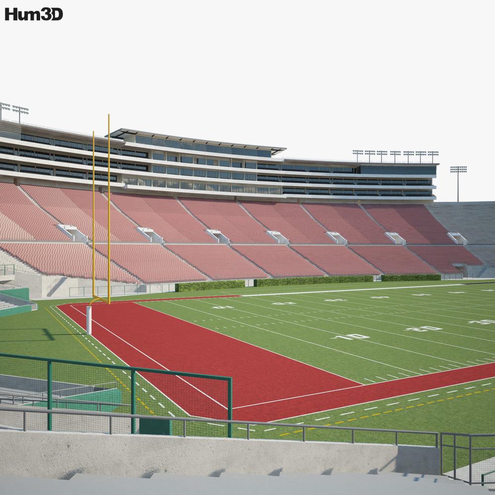 Rose Bowl Stadium 3D model