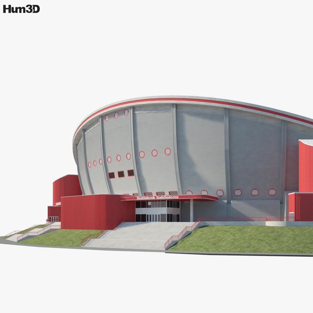 Scotiabank Saddledome 3d model