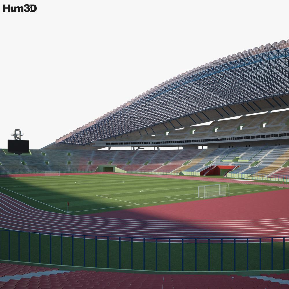 Shah Alam Stadium 3D model
