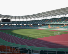 3D model of Shizuoka Stadium ECOPA