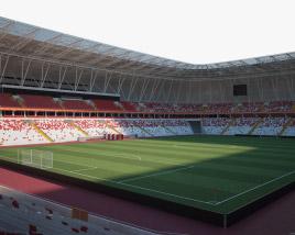 3D model of Sivas Arena
