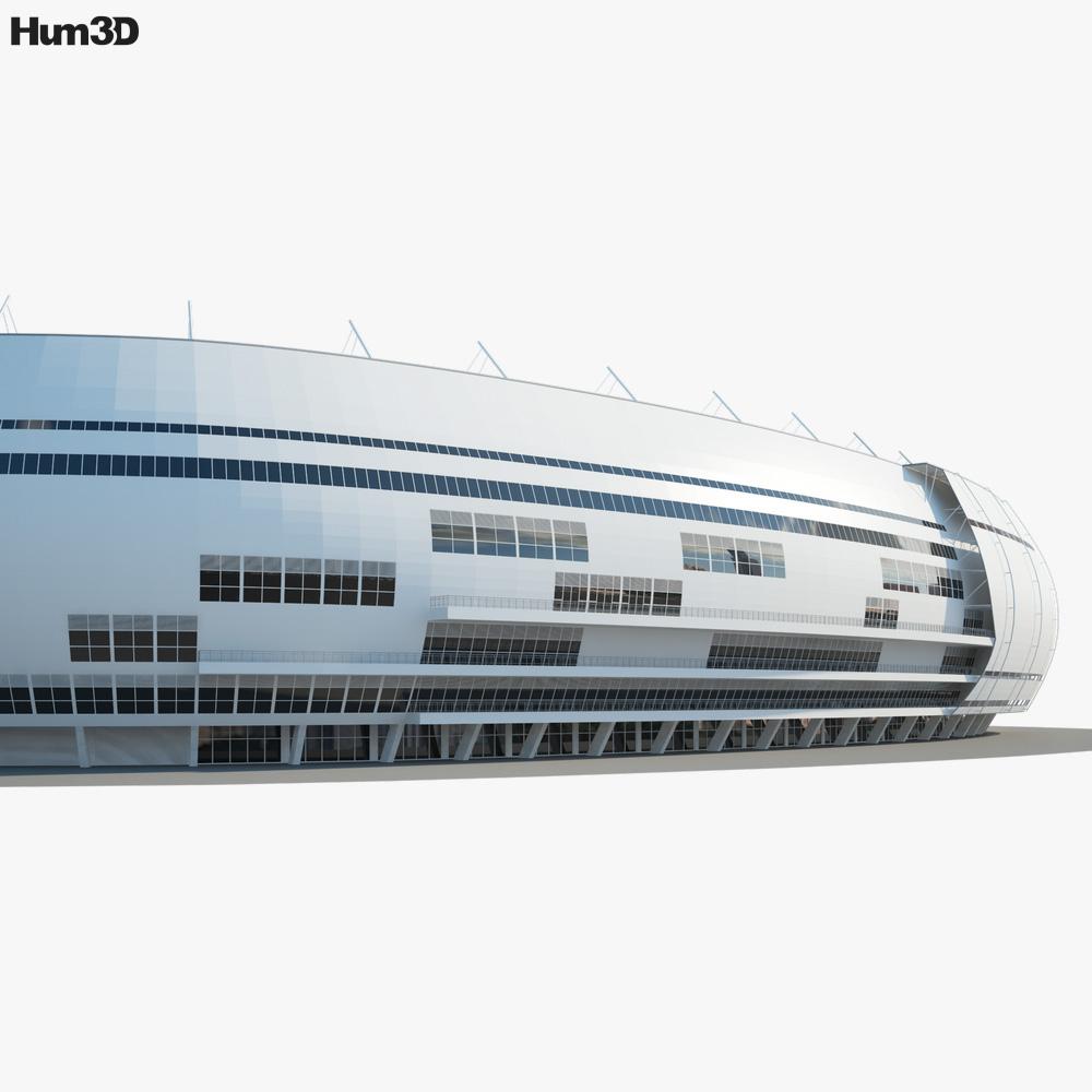 Sivas Arena 3d model