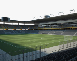 3D model of Stade de Suisse