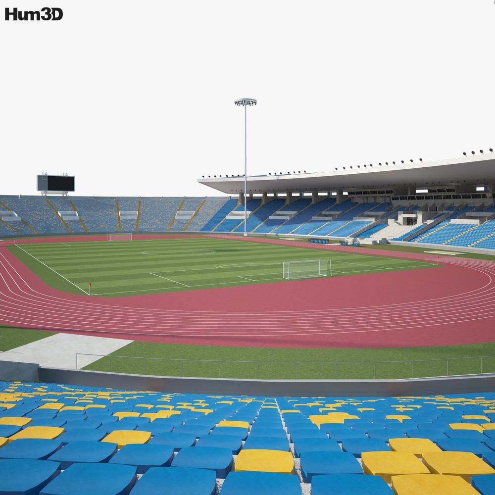 Stade Mohammed V 3d model