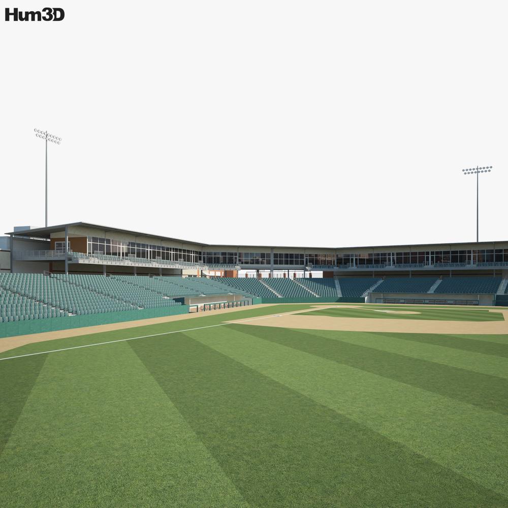 T-Bones Stadium 3D model