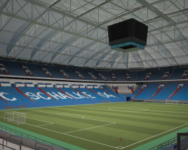 Veltins Arena 3D model