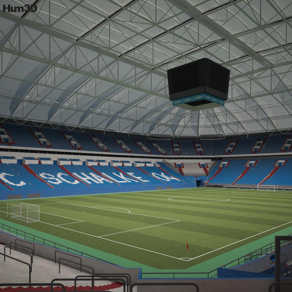 Veltins Arena 3D model