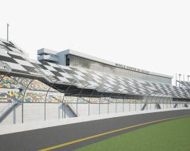 Daytona International Speedway 3D model
