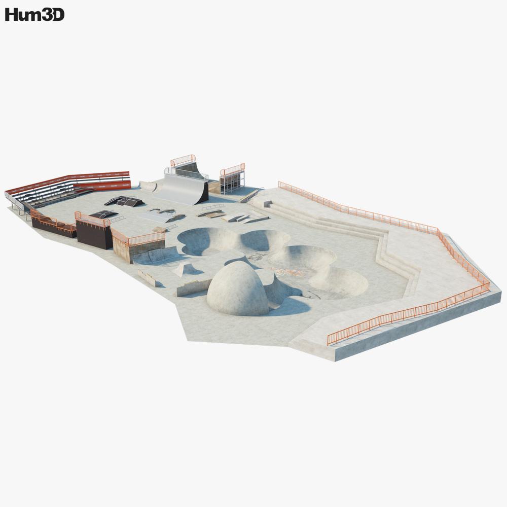 Skatepark 3D model