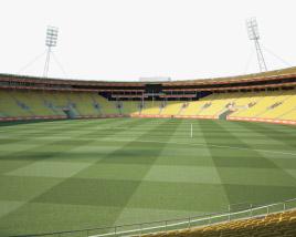 Sky Stadium 3D model
