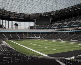 Allegiant Stadium 3D model
