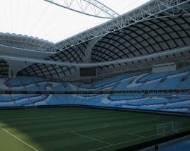 Al Janoub Stadium 3D model