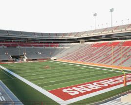 Darrell K Royal Texas Memorial Stadium 3D model