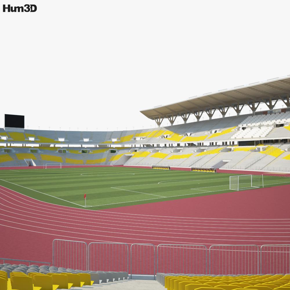 Borg El Arab Stadium 3D model