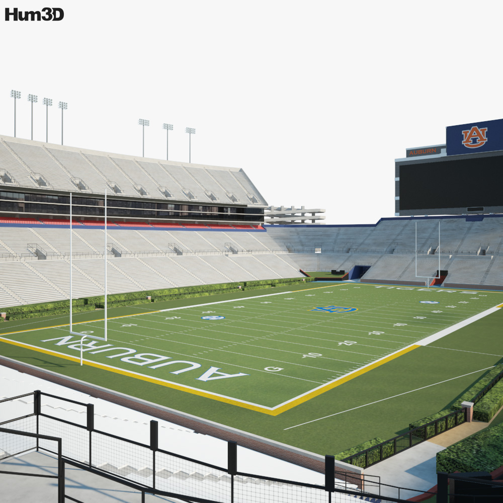 Jordan-Hare Stadium 3D model
