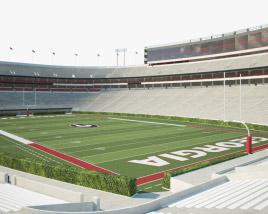 Sanford Stadium Modelo 3d
