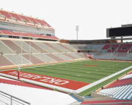 Gaylord Family Oklahoma Memorial Stadium 3D model