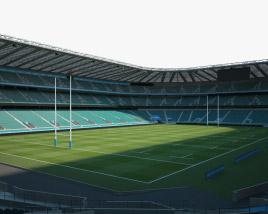 Twickenham Stadium 3D model