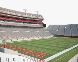 Memorial Stadium Lincoln 3D model