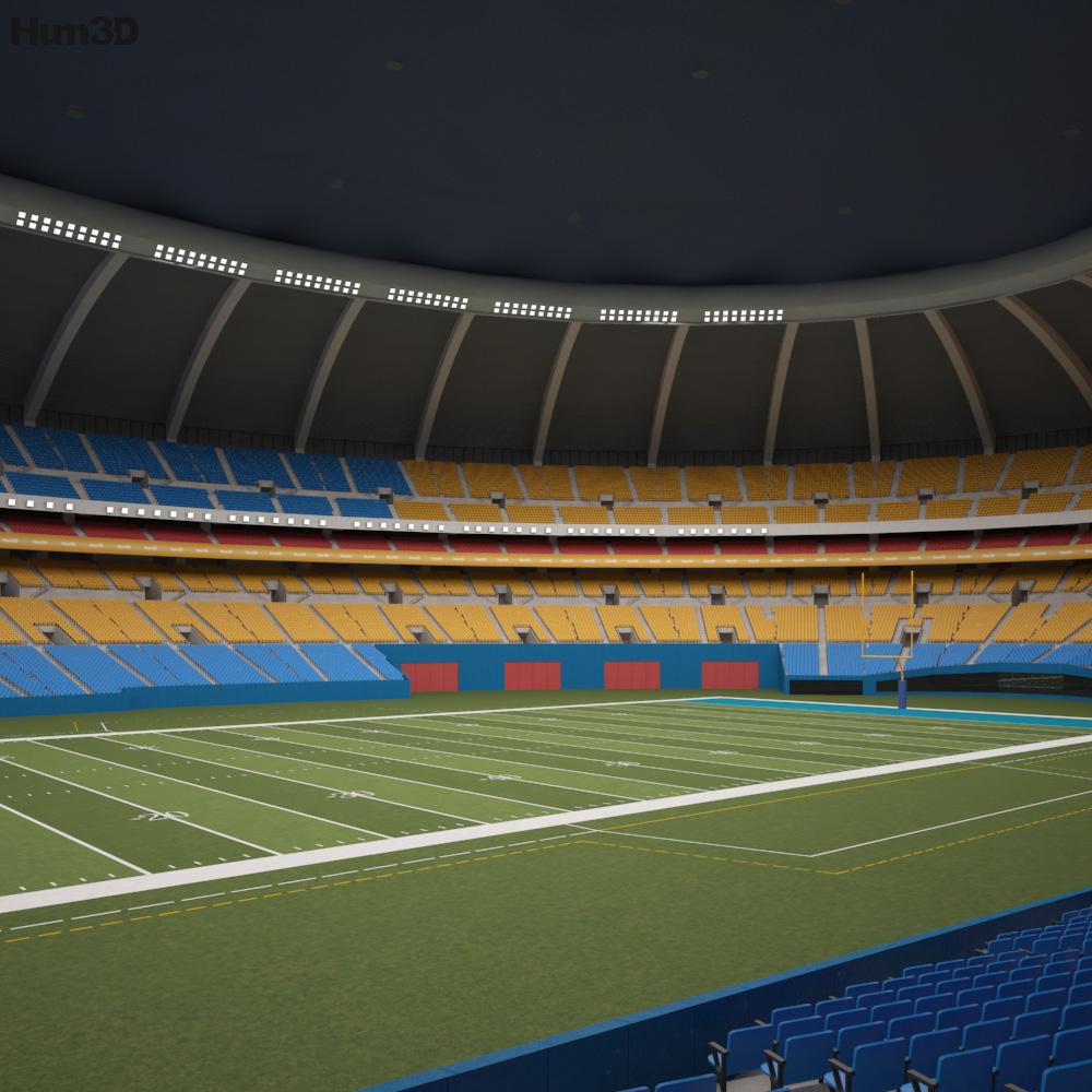 Olympic Stadium Montreal 3D model