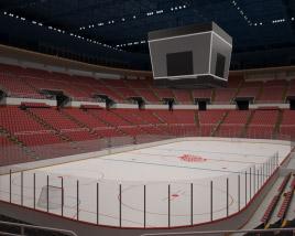 Joe Louis Arena 3D model