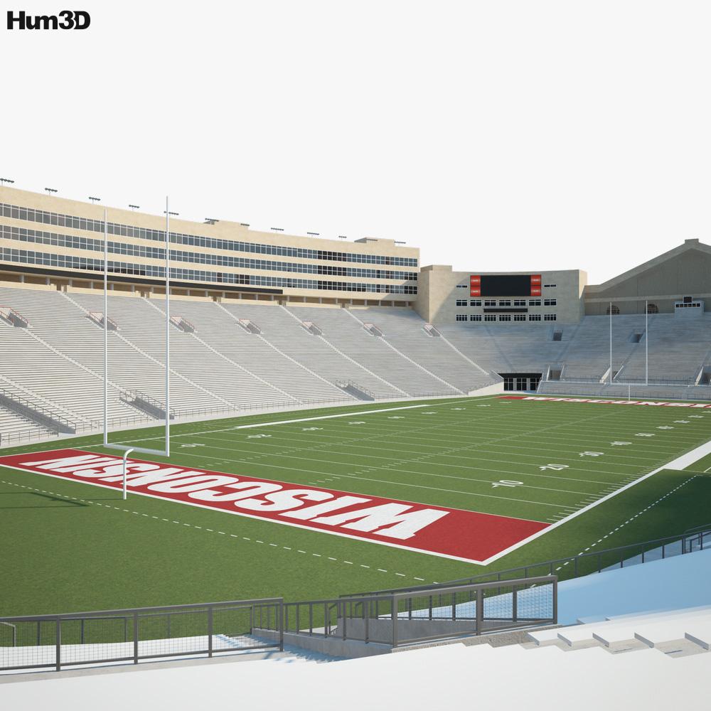 Camp Randall Stadium 3d model