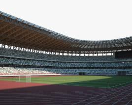 Japan National Stadium 3D model