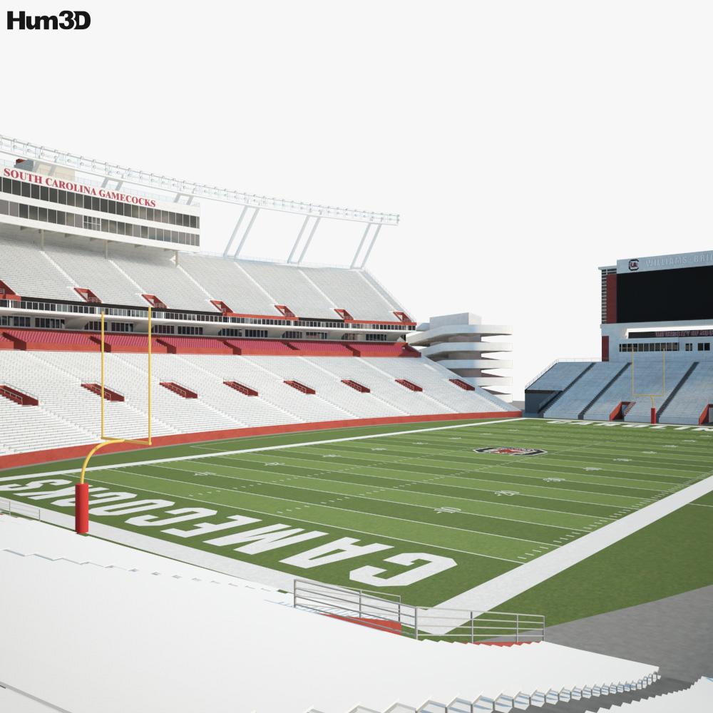 Williams-Brice Stadium 3D model