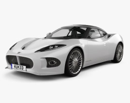 3D model of Spyker B6 Venator 2013
