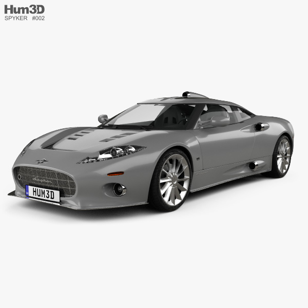 3D model of Spyker C8 Aileron 2008