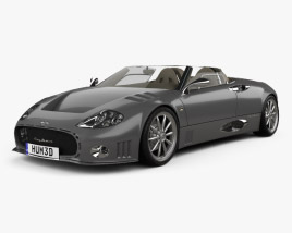 3D model of Spyker C12 La Turbie 2006