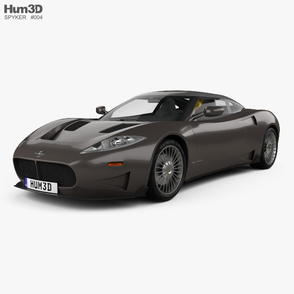 3D model of Spyker C8 Preliator 2017