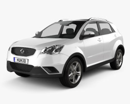 3D model of SsangYong Korando (New Actyon) 2012