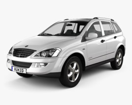 3D model of SsangYong Kyron 2011