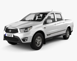 3D model of SsangYong Korando Sports (New Actyon) 2012