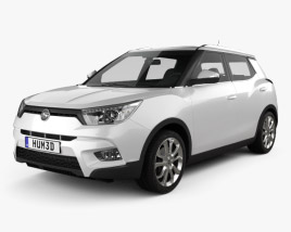 3D model of SsangYong Tivoli 2015