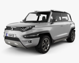 3D model of SsangYong XAV-Adventure 2015