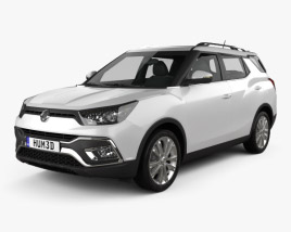 3D model of SsangYong XLV 2016