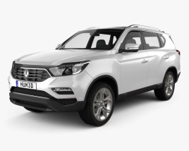 3D model of SsangYong Rexton 2018