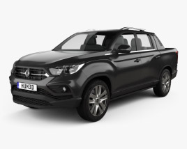 3D model of SsangYong Rexton Sports 2018