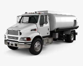 Sterling Acterra Oil Tank Truck 2002 3D model