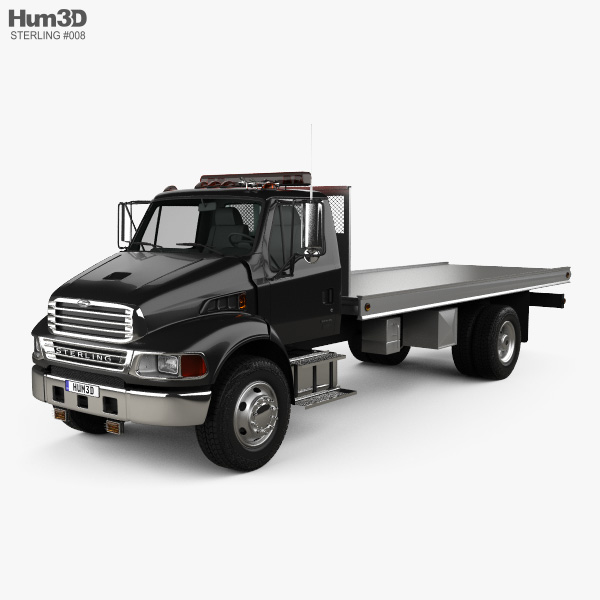 Sterling Acterra Tow Truck 2002 3D model
