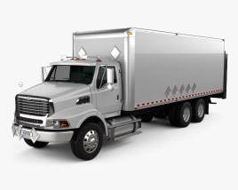 Sterling L9500 Box Truck 2009 3D model