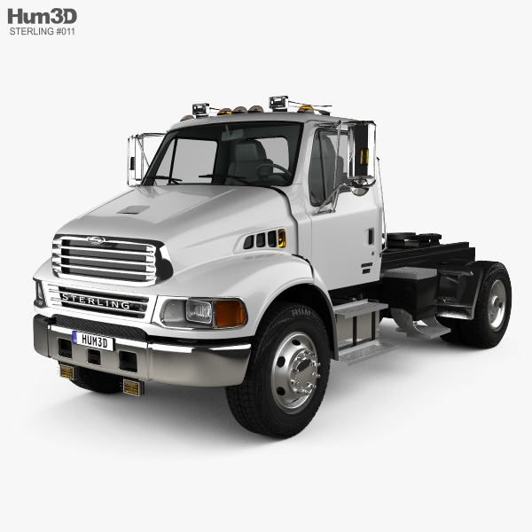 Sterling Acterra Tow Truck 2-axle 2002 3D model