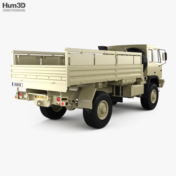 Stewart & Stevenson M1083 MTV Truck 2-axle 2019 3D model