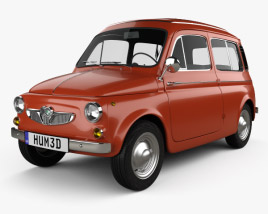 3D model of Puch 700 C 1961